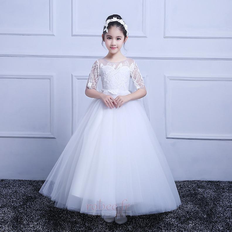 Robes de fille de fleur Princesse