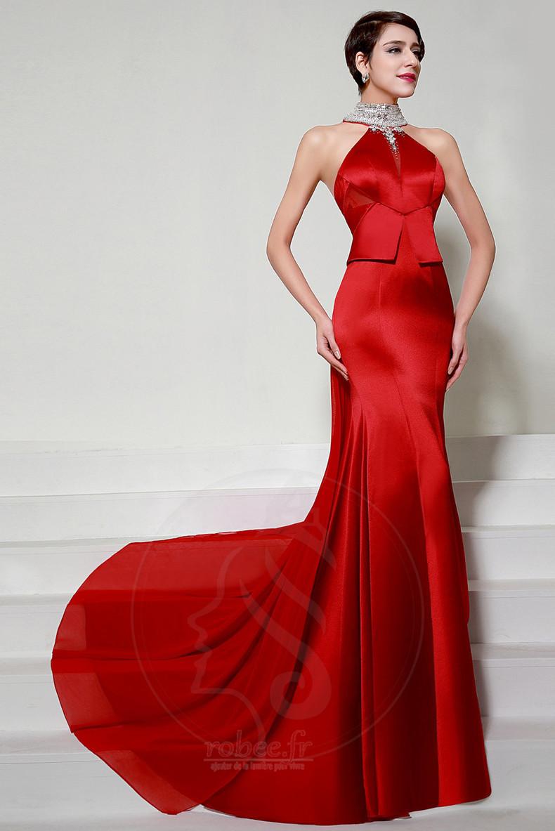Robes de soirée Rouge