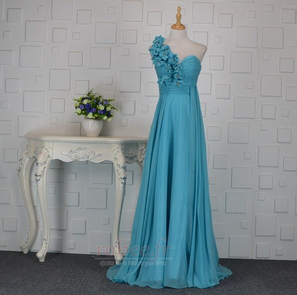 Robes de soirйe Bleu