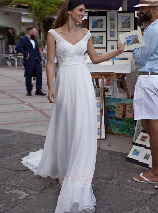 Robes de mariée Taille haute